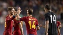 Spagna-Irlanda 2-0: i gol di Soldado e Mata