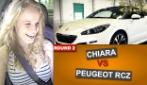 Fast Girls - Chiara contro il Peugeot RCZ Cattivo (Round 2)