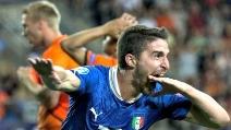 Italia-Olanda 1-0 il gol di Borini nella semifinale Europeo U21