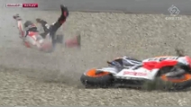 L'incidente di Marc Márquez ad Assen