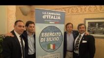 """E' nato l""""Esercito di Silvio': """"Berlusconi non è solo un uomo, è un sogno"""""""