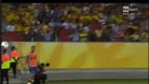 Goal di De Rossi Italia - Giappone 2-1 + Bestemmia di Prandelli