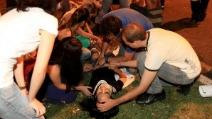Il folle alla guida del Suv che investe i manifestanti in Brasile, uccidendone uno