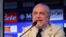 """De Laurentiis: """"Nessun faccia a faccia con Cavani. C'è una clausola"""""""
