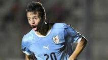 Nico Lopez fa il cucchiaio alla Totti su rigore in Uruguay-Nigeria 2-1 U20