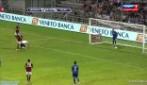 Trofeo TIM 2013: Milan-Sassuolo, il gol di Petagna che porta in vantaggio i rossoneri