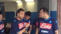 Napoli, primo allenamento di Benitez a Dimaro