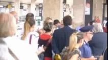 Sharon Stone su Italo per raggiungere il set di Avati