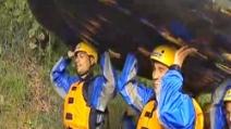 Il Napoli fa rafting a Dimaro 2013
