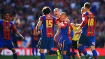 Il gol di Phillips in Crystal Palace-Watford finale playoff