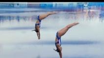 Mondiali di nuoto, argento per Tania Cagnotto e Francesca Dallapè