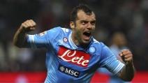 Emirates Cup 2013, Arsenal-Napoli: il gol del raddoppio partenopeo di Goran Pandev