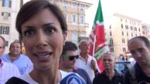 """Carfagna al sit-in pro Berlusconi: """"Magistratura politicizzata da vent'anni"""""""