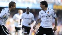 Valencia-Inter, il gran gol di Ever Banega