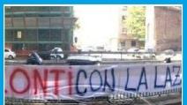 Calcioscommesse : la protesta dei tifosi della Lazio