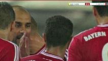 Pep Guardiola schiaffeggia Thiago Alcantara