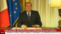 """Sentenza Mediaset, il videomessaggio Berlusconi: """"Accanimento giudiziario"""""""