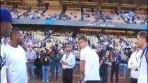 Cristiano Ronaldo in versione giocatore di baseball