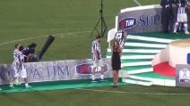 La Juventus di Antonio Conte alza al cielo la Supercoppa TIM