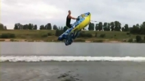 Volare sull'acqua con un'astronave gonfiabile? E' possibile