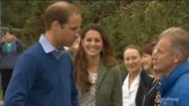 Kate Middleton per la prima volta in pubblico dopo il parto