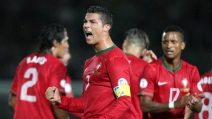 La tripletta di Cristiano Ronaldo in Irlanda del Nord-Portogallo 2-4 (qualificazioni mondiali 2014)