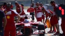 """Team Radio, Fernando Alonso ai box: """"Siete degli scemi"""" Monza, GP 2013"""