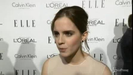 Emma Watson è l'icona della bellezza britannica