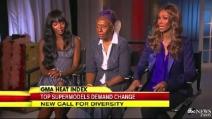Naomi Campbell denuncia il razzismo in passerella