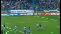 Il gol di Krol in Brescia-Napoli 1-2 (stagione 1980/1981)