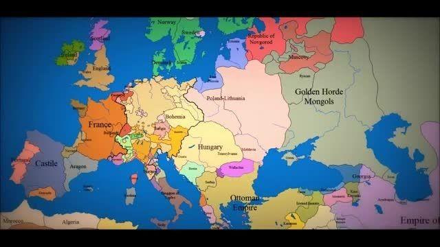 Cartina Del Mondo Nel 1800.La Mappa Dell Europa Dal 1000 Ad Oggi Quanti Cambiamenti