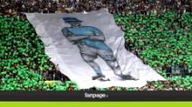 Champions, Napoli domina il Borussia, tifosi in festa