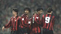Fiorentina 3-7 Milan - 5° giornata della Serie A 92/93