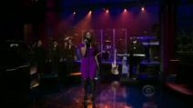 "Leona Lewis canta ""Bleeding Love"" da David Letterman"