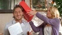 Ilary Blasi e Francesco Totti negli spot Vodafone