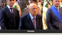 """Napolitano in visita a Napoli, i cittadini: """"Stiamo morendo"""""""