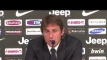 """Conte su Juve-Milan: """"Dobbiamo stare più attenti"""""""