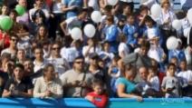 Calcio, Nazionale: tifosi in festa per allenamento azzurri a Quarto