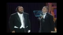 """Luciano Pavarotti & Eros Ramazzotti cantano """"Se Bastasse Una Canzone"""""""