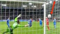 Il gol fantasma in Hoffenheim-Leverkusen 1-2 (18.10.2013)