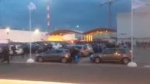 Marsiglia-Napoli, le immagini degli scontri al Velodrome