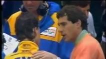 GP Francia 1992 - La rivalità tra Senna e Schumacher ha ufficialmente inizio