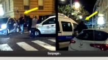 Napoli, contatto sospetto tra vigili e parcheggiatore abusivo