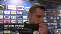 """Leonardo Bonucci: """"Risultato importante, abbiamo dimostrato compattezza"""""""