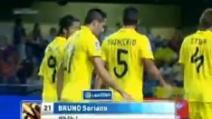 Il gol di Bruno Soriano in Villareal-Granada 3-0