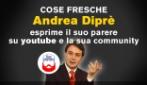 Andrea Diprè parla di youtube e la sua community