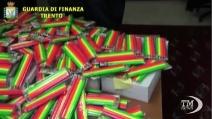 Trento, sequestrati 140 mila pastelli tossici per bambini