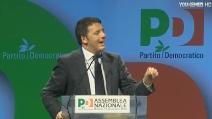 """Renzi discorso da nuovo segretario del PD: """"Voglio un'Italia che produce cultura"""""""