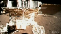 Spazio, tv cinese mostra prime immagini sbarco su Luna di sonda Yutu