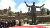 A Pretoria una statua di 9 metri dedicata a Mandela